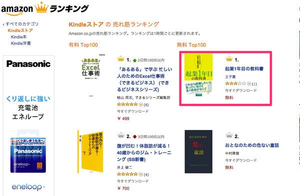 free1 僕が書籍を出版したときに犯した失敗5つ!これから自分でAmazon出版する方はぜひ「教訓」に!