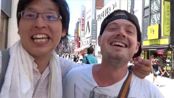 cray あなたの恋を見つけよう!なぜヘッポコ新米社長「のび太」は外国人への街頭インタビューを始めたのか?Find Your Love!