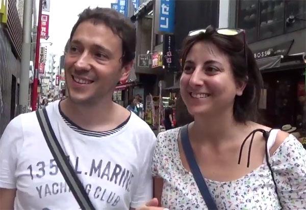 itarian couple 外国人へ街頭インタビューした結果、予想通りの結果が得られなかった失敗例..何でもやってみなきゃわからない!