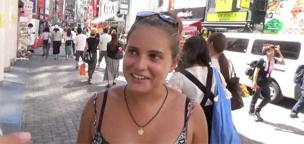 lady 外国人へ街頭インタビューした結果、予想通りの結果が得られなかった失敗例..何でもやってみなきゃわからない!