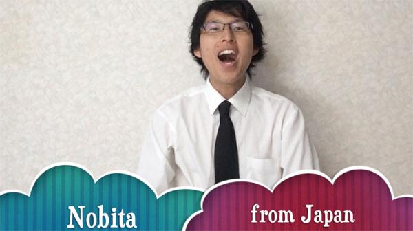 nobita1 あなたの恋を見つけよう!なぜヘッポコ新米社長「のび太」は外国人への街頭インタビューを始めたのか?Find Your Love!